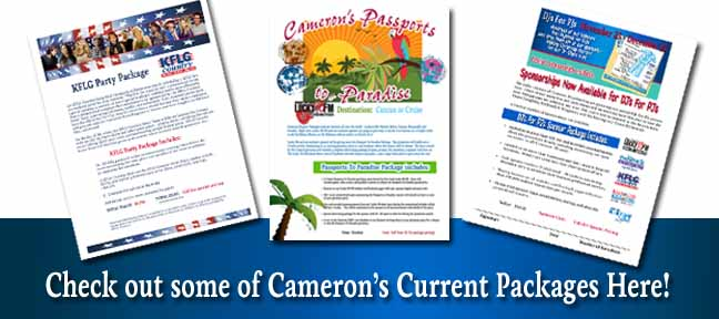 Cameron Sponsorship Packages